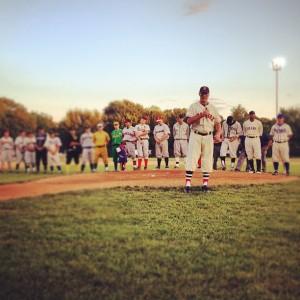 peter frates oldtime baseball game