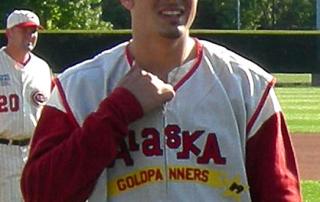 alaska goldpanners baseball uniform