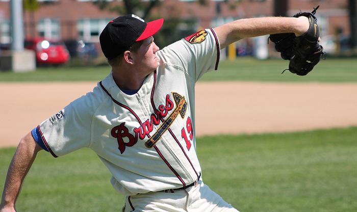 Boston braves baseball unifom