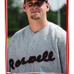 Roswell Rockets baseball uniform