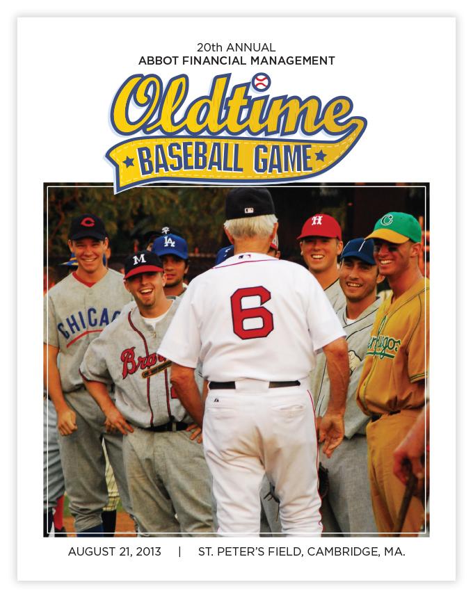 Oldtime Baseball Game cover Jesse Haley design
