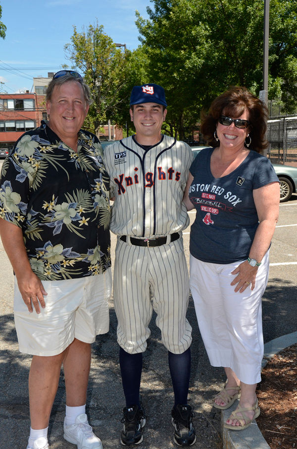 skip flanagan and parents in Cambridge