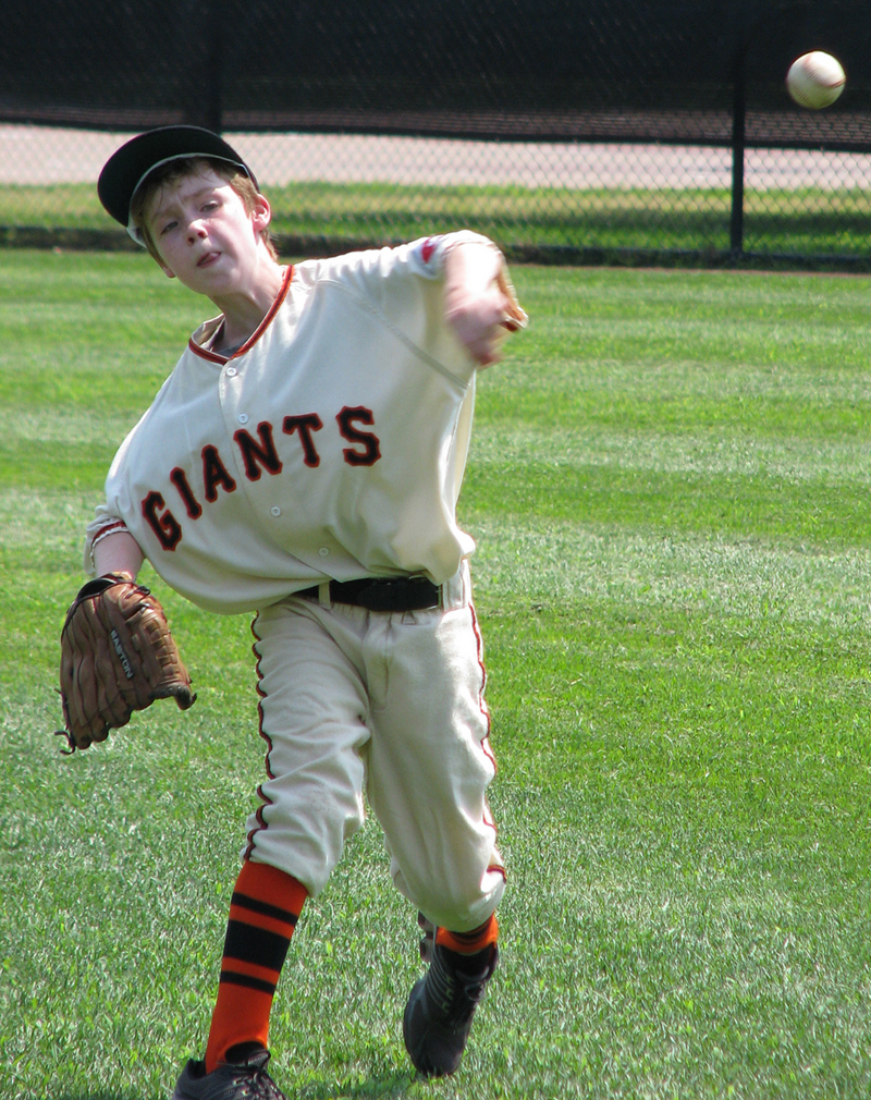 New York Giants baseball uniform
