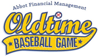 Oldtime Baseball Game Logo
